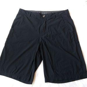 Men's Lululemon Black Kahuna Nylon Shorts Size 34